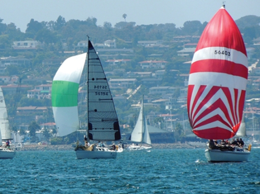 WEB sailboats filled San Diego Bay at the 11th Annual Benefit Regatta for Sharp Grossmont HomeHospice Care..jpg