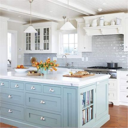 Design Trends: Two-Tone Kitchen Cabinets