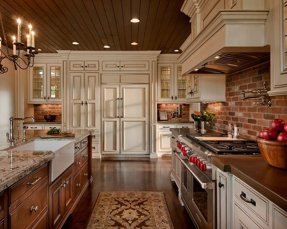 Design Trends Two Tone Kitchen Cabinets