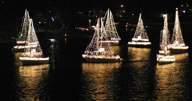 Mission Bay Christmas Boat Parade Of Lights