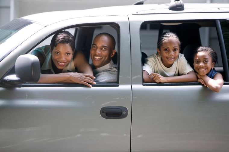 Family in Their SUV
