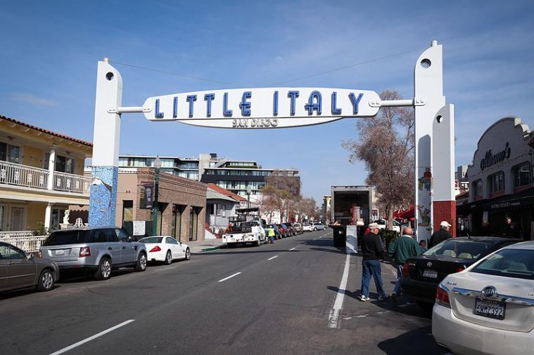 Little Italy in San Diego